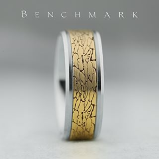 wedding bands square cut
