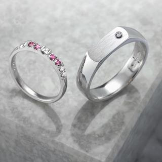 wedding rings with big diamond