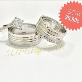 my trio wedding rings
