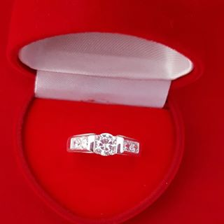wedding ring sets solitaire