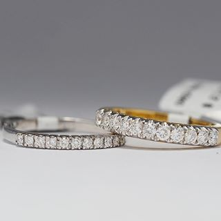 wedding rings and band sets