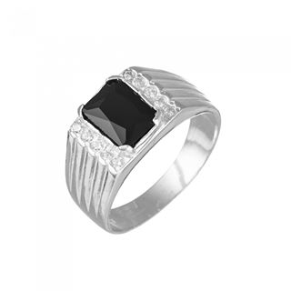 black wedding rings for him uk