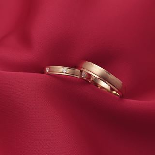 gold wedding ring earrings
