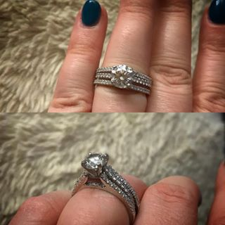 bridal wedding ring sets cheap